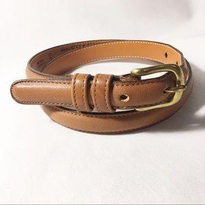 Coach Leather Belt